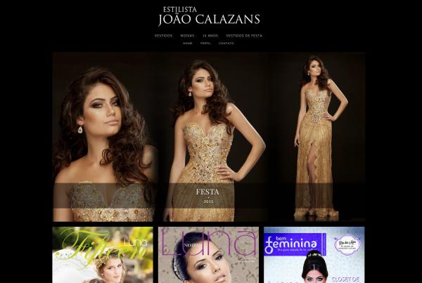 Desenvolvimento Site João Calazans