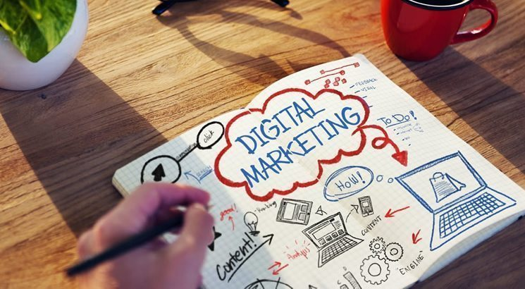desenho que mostra o que é marketing digital